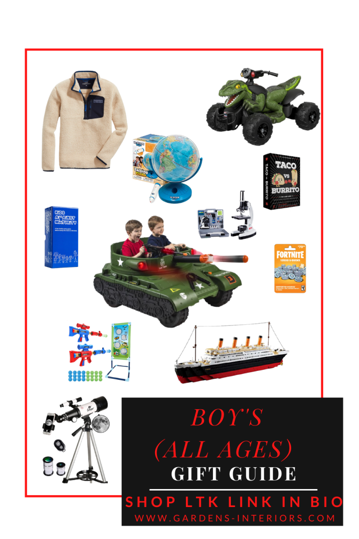 Boys Gift Guide (From Toddlers toTeenagers)